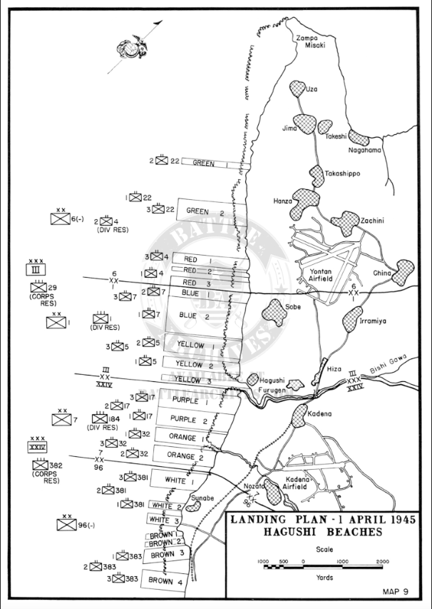Battle Archives Map Copy of Okinawa #1