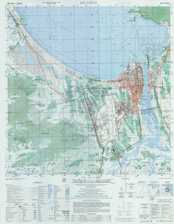 Battle Archives Map Da Nang #2