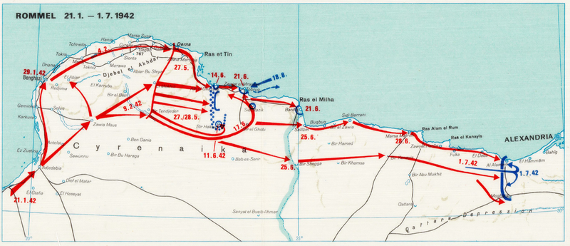 Battle Archives Map European Theater of Operations 1939-1945