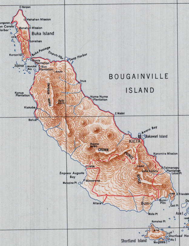 Battle Archives Map Guadalcanal #5