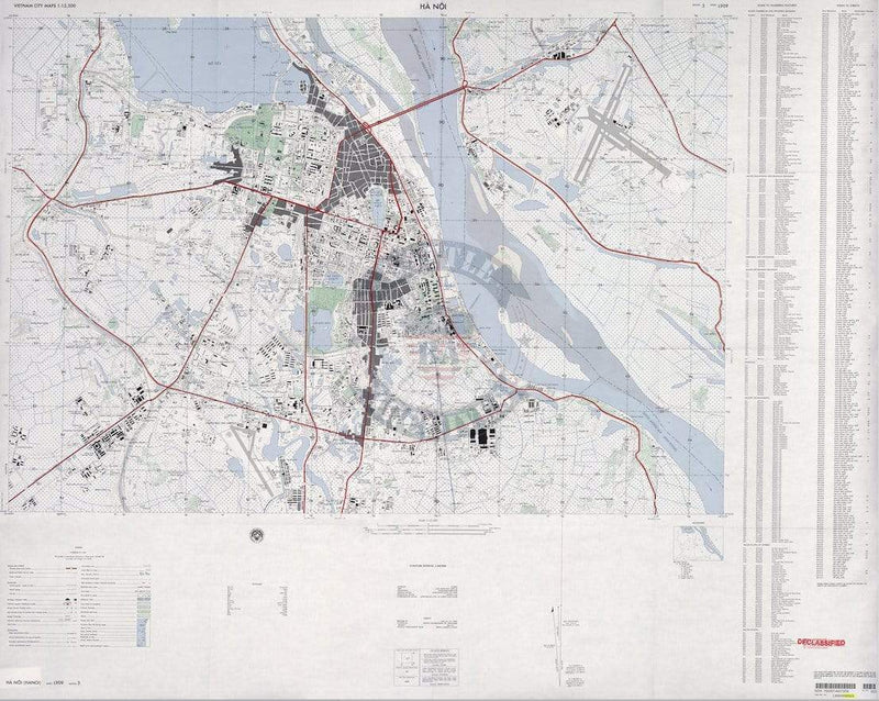 Battle Archives Map Hanoi