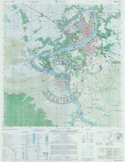 Hue City, Vietnam 1:25,000 Topographical Map – Battle Archives on latitude map of vietnam, relief map of vietnam, climate map of vietnam, population density map of vietnam,