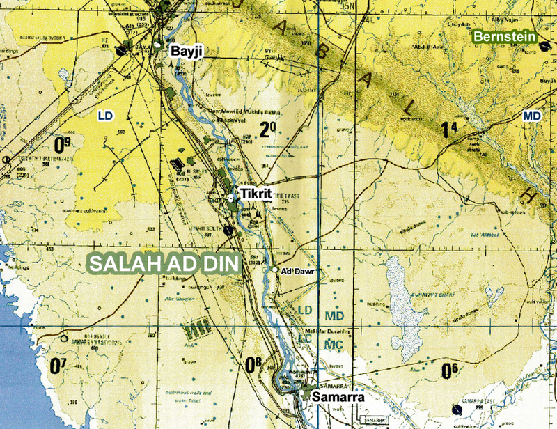 Battle Archives Map Iraq #2