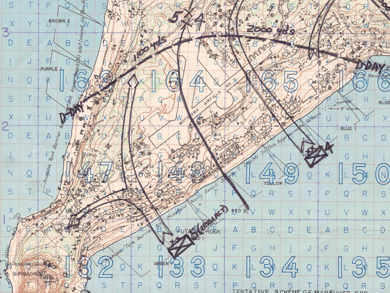Battle Archives Map Iwo Jima #1