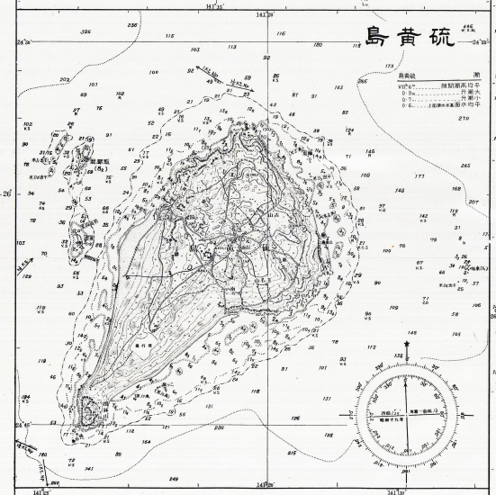 Battle Archives Map Iwo Jima #10
