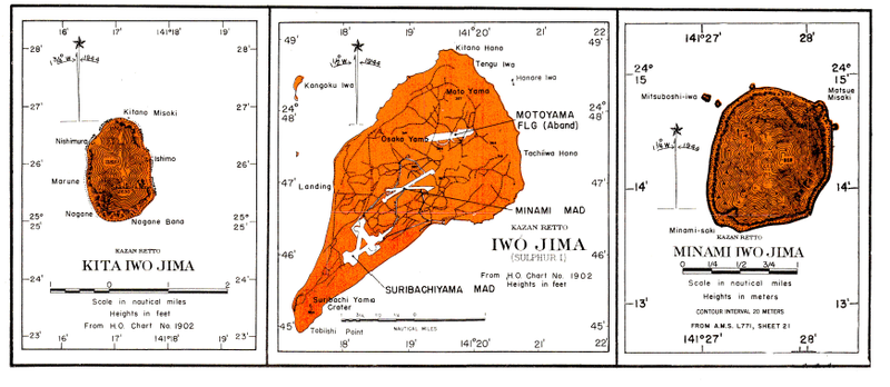 Battle Archives Map Iwo Jima #11
