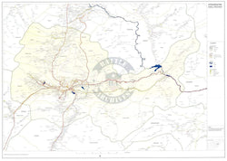 Battle Archives Map Kabul Province, Afghanistan
