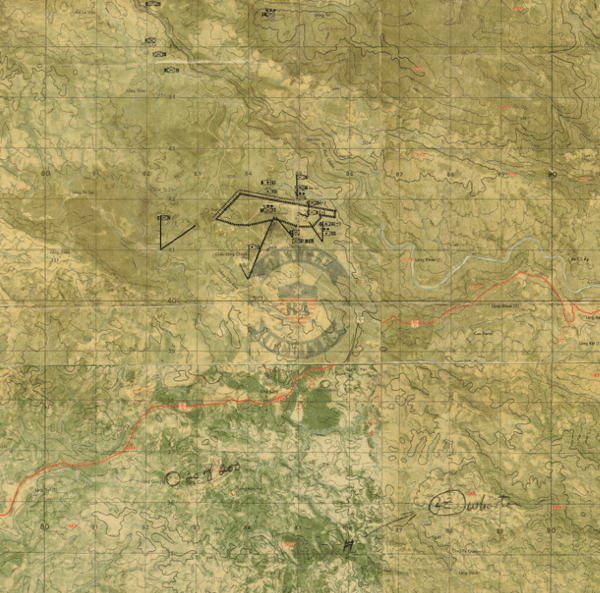 Battle Archives Map Khe Sanh #2