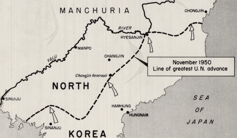 Battle Archives Map Korean War Campaign