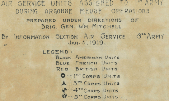 Battle Archives Map Meuse-Argonne Offensive #4
