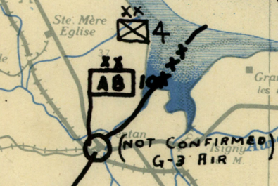 Battle Archives Map Normandy #1