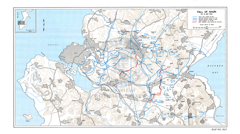 Battle Archives Map Okinawa #1