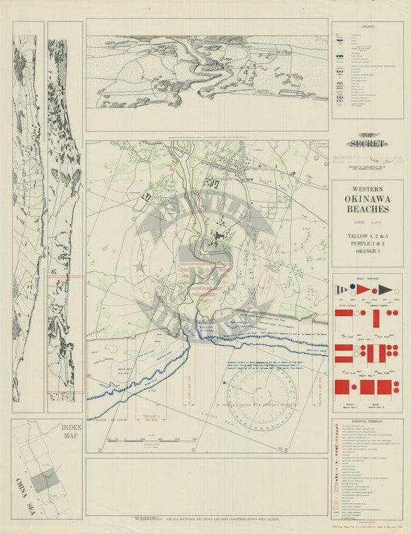 Battle Archives Map Okinawa #2