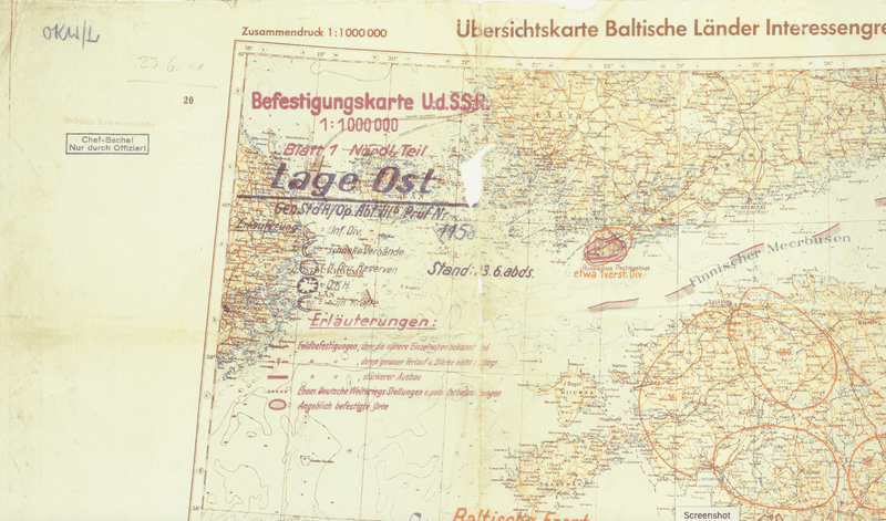 Battle Archives Map Operation Barbarossa