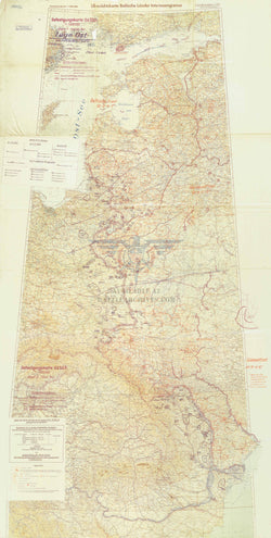 Battle Archives Map Operation Barbarossa Start of Invasion Battle Map