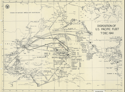 Battle Archives Map Pearl Harbor #1