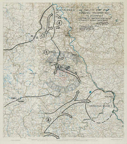 Battle Archives Map Rhineland