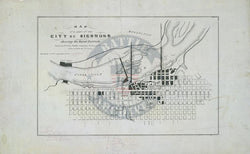 Battle Archives Map Richmond, Virginia #5