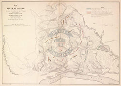 Battle Archives Map Shiloh, Tennessee #2