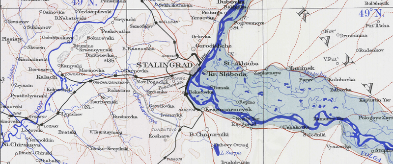 Battle Archives Map Stalingrad #2