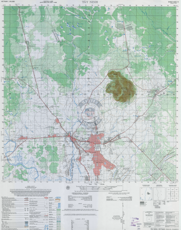 Battle Archives Map Tay Ninh