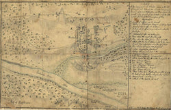 Battle Archives Map Trenton, New Jersey #2