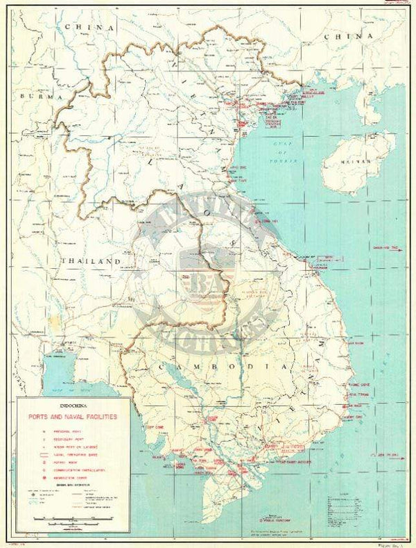 Battle Archives Map Vietnam