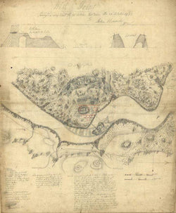 Battle Archives Map West Point, New York #2