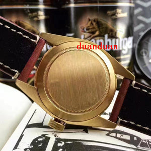 Luxury AAA Wristwatches Gold Case Black Bay Automatic Movment Stainless Steels Green Sport Men Mens Watch Watches - Scotch and Rocks