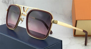 The latest selling popular fashion designer sunglasses - square plate frame top quality anti-UV400 lens with box - Scotch and Rocks