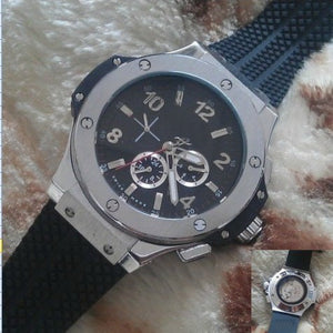 A2813 AAA New silver Mens F1 Luxury Brand Automatic movement Watch Big Bang men Mechanical Watches Fashion Sports Wristwatch - Scotch and Rocks