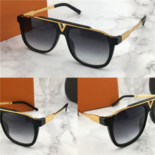 The latest selling popular fashion men designer sunglasses 0937 square plate metal combination frame top quality anti-UV400 lens with box - Scotch and Rocks