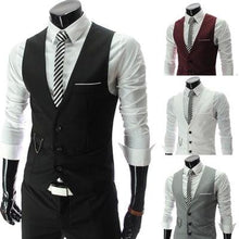 2018 New Arrival Dress Vests For Men Slim Fit Mens Suit Vest Male Waistcoat Gilet Homme Casual Sleeveless Formal Business Jacket - Scotch and Rocks
