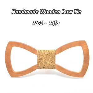 Classy Wooden Bowtie with Various Colours - Scotch and Rocks