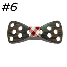 Dot Wooden Bowtie - Scotch and Rocks