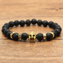 We Are Spartans!!!!! Spartan Lava Stone Bracelet - Scotch and Rocks