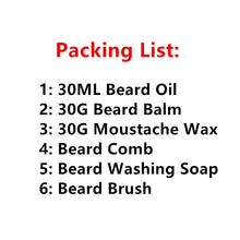 Awesome Gift Set Natural & Organic Beard & Mustache Care Kit with FREE ORGANIC B - Scotch and Rocks