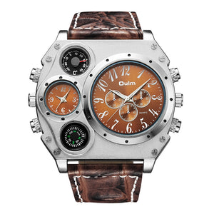 Cool & Unique Wrist Watch with Multiple Time Zone - water resistant - Scotch and Rocks