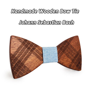 Another Sweet Deal!! - Plaid Wooden Bowtie - Scotch and Rocks