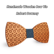 Polka Dot Wooden Bowtie - Scotch and Rocks