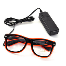 Flashing EL Glasses EL Wire LED Glasses Glow Party Supplies Lighting Novelty Gif - Scotch and Rocks