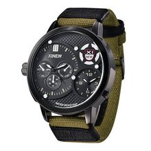 TOP SELLER: Elegant Yet Tactical Style Watch with Canvas Strap - Scotch and Rocks