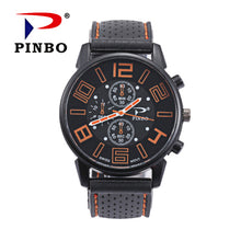 PINBO Fashion Chronograph Sport Mens Watches Top Brand Luxury Quartz Watch Reloj - Scotch and Rocks