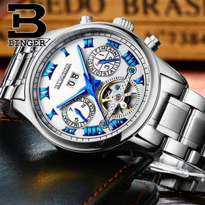 Luminous Luxury Tourbillon Watch - Scotch and Rocks