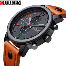 Fashion Brand Quartz Watch Men Casual Leather strap Business Wristwatch Military - Scotch and Rocks