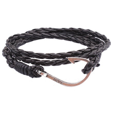 Handmade Multilayer Men Women Leather Braided Cord Rope Bracelet - Scotch and Rocks