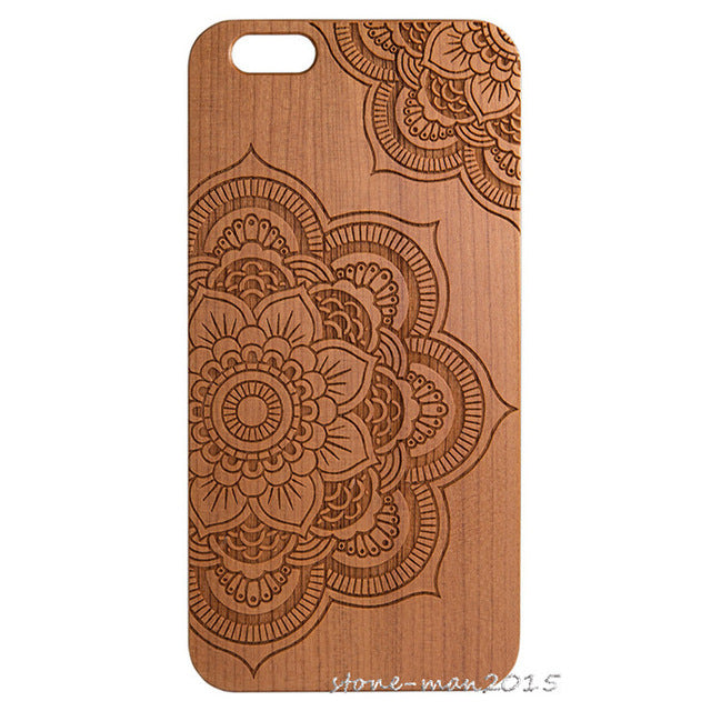 Karstadt Natural Wooden Bamboo Protector Hard Case Cover PC Bumper For iPhone X - Scotch and Rocks