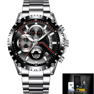 Affordable Luxury! 2017 New Fashion LIGE Mens Watch - Scotch and Rocks