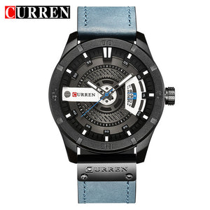 CURREN Date Men Watch New Top Luxury Brand Sport Military Army Business Male Clo - Scotch and Rocks