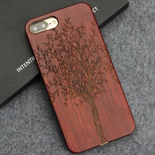Luxury Engraving Wood Phone Cases -iPhone 8 Plus & iPhone 7 Plus Cover - Scotch and Rocks
